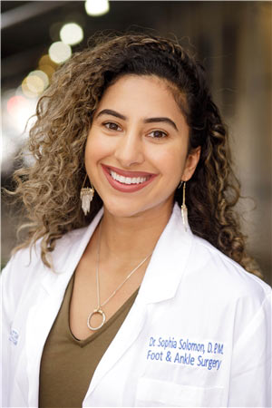Podiatrist NYC, Foot Doctor in Manhattan | Dr. Sophia Solomon