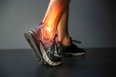 Ankle injury and Joint pain-Sports