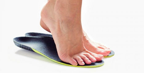 Flat foot condition and treatment